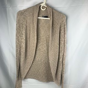 Tan fall cardigan sweater